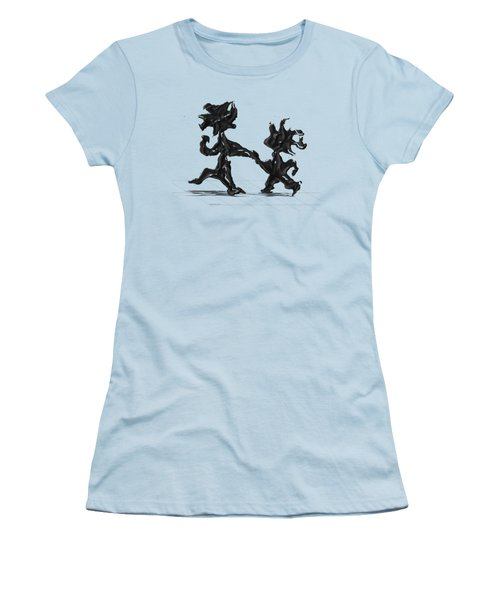 Dancing Couple 6 Women's T-Shirt (Athletic Fit)