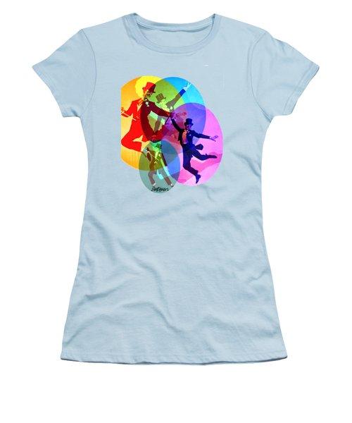 Dancing On Air Women's T-Shirt (Junior Cut) by Seth Weaver