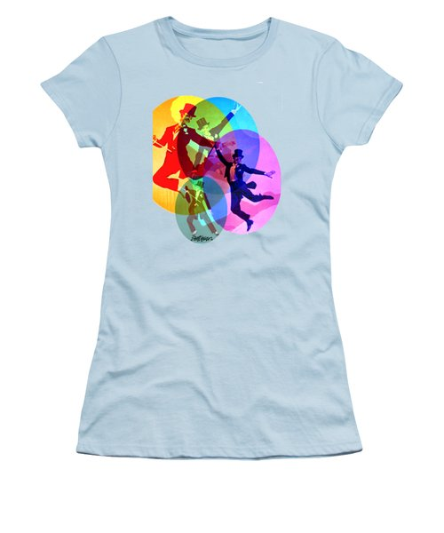 Dancing On Air Women's T-Shirt (Athletic Fit)