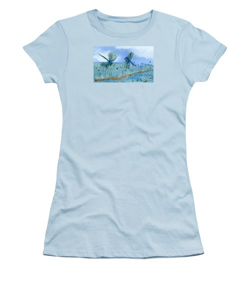 Dancing Skies Women's T-Shirt (Athletic Fit)