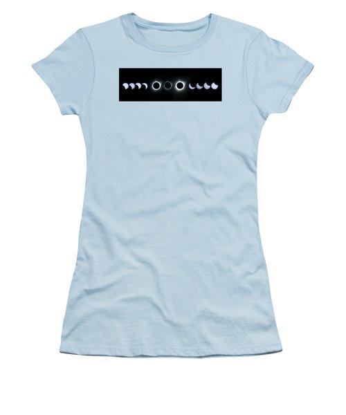Dark Sun Women's T-Shirt (Athletic Fit)