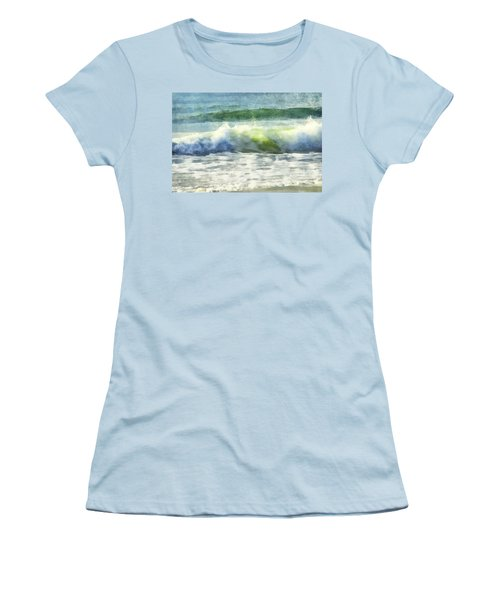 Dawn Wave Women's T-Shirt (Junior Cut) by Francesa Miller