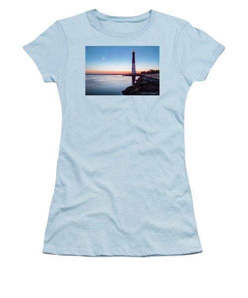Daybreak At Barnegat Women's T-Shirt (Junior Cut) by Eduard Moldoveanu