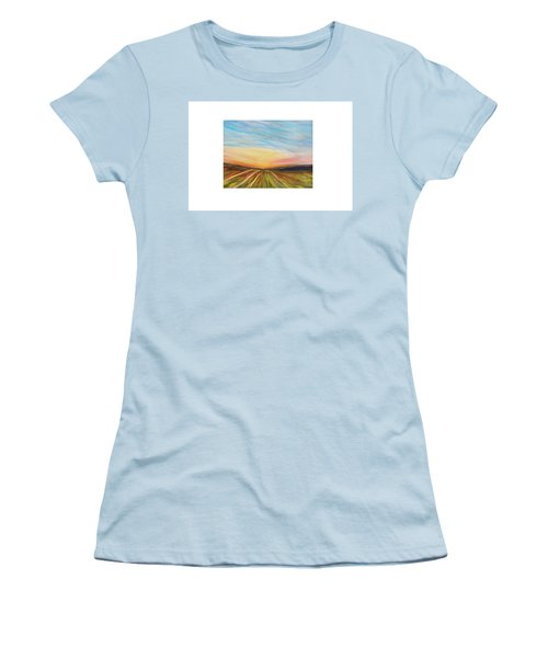 Days Last Rays Women's T-Shirt (Athletic Fit)