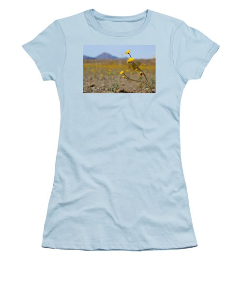 Death Valley Superbloom 501 Women's T-Shirt (Athletic Fit)