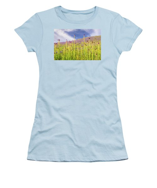 Desert Candles At Carrizo Plain Women's T-Shirt (Athletic Fit)