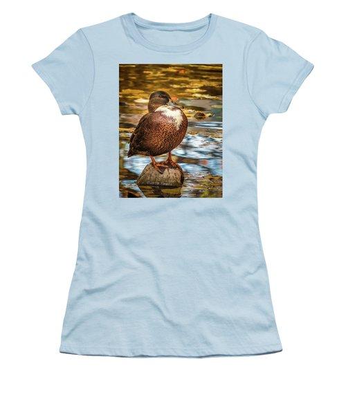 Desert Island Women's T-Shirt (Athletic Fit)