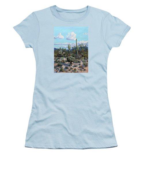 Desert Landscape Women's T-Shirt (Junior Cut) by M Diane Bonaparte
