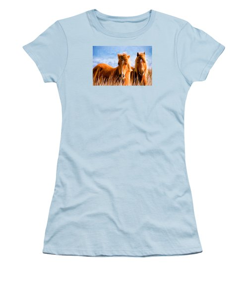 Deuces Wild Women's T-Shirt (Junior Cut) by Steven Richardson