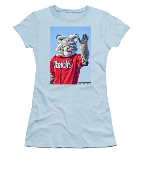 Diamondbacks Mascot Baxter Women's T-Shirt (Junior Cut)
