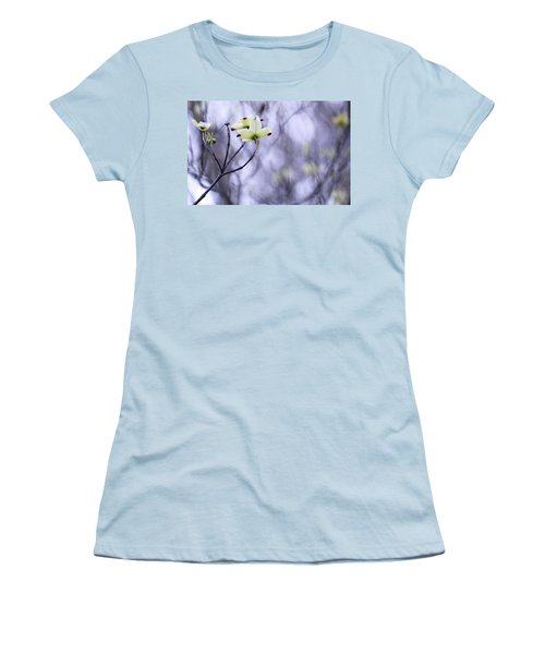 Women's T-Shirt (Junior Cut) featuring the photograph Dogwood by Tammy Schneider