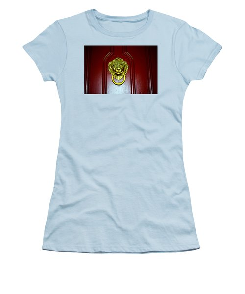 Door Knocker Women's T-Shirt (Athletic Fit)