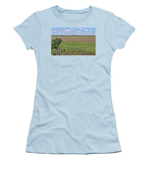 Down In The Valley Women's T-Shirt (Junior Cut) by Sylvia Thornton
