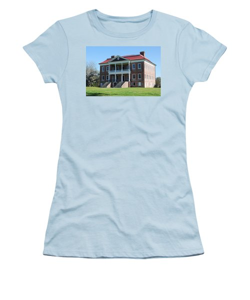 Drayton Hall Women's T-Shirt (Junior Cut) by Gordon Mooneyhan