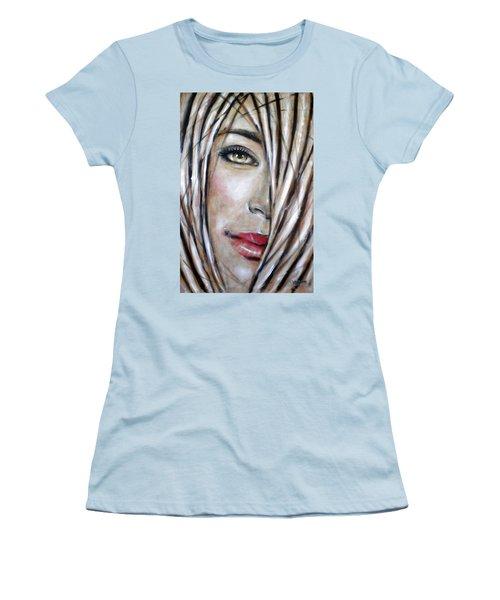 Dream In Amber 120809 Women's T-Shirt (Junior Cut) by Selena Boron