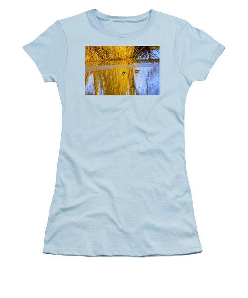 Dreaming Women's T-Shirt (Junior Cut) by Leif Sohlman