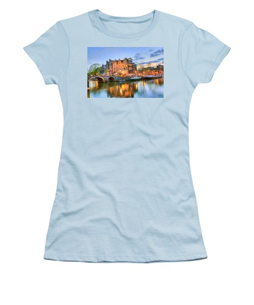 Dreamy Amsterdam   Women's T-Shirt (Athletic Fit)