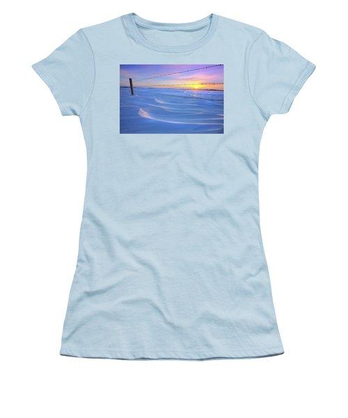 Drifting Away Women's T-Shirt (Athletic Fit)
