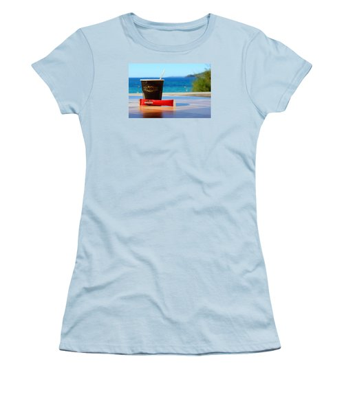 Women's T-Shirt (Junior Cut) featuring the photograph Drink It In by Richard Patmore