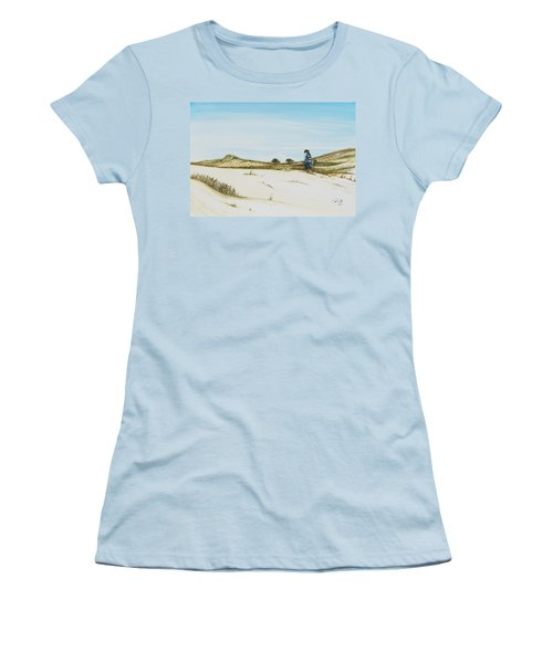 Dune Walker Province Lands Women's T-Shirt (Athletic Fit)