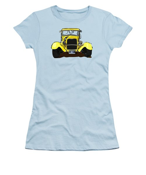 Early 1930s Ford Yellow Women's T-Shirt (Athletic Fit)