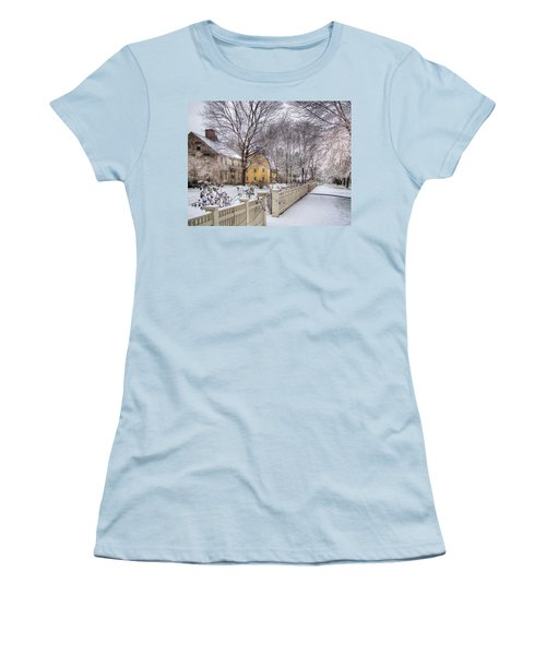 Early Massachusetts Women's T-Shirt (Junior Cut) by Betsy Zimmerli