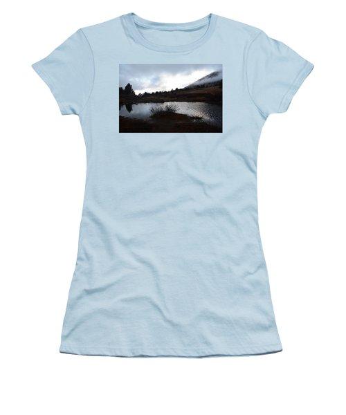 Early Morning At Favre Lake Women's T-Shirt (Junior Cut) by Jenessa Rahn