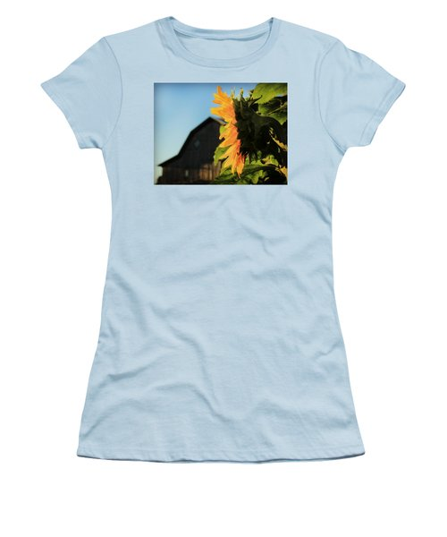 Women's T-Shirt (Junior Cut) featuring the photograph Early One Morning by Chris Berry