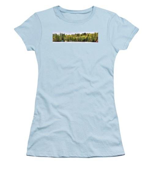 Early Spring Panorama Women's T-Shirt (Junior Cut) by David Patterson