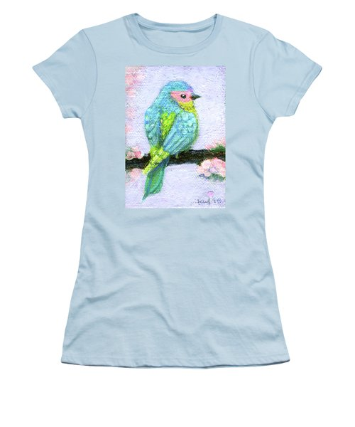 Easter Bird Women's T-Shirt (Athletic Fit)