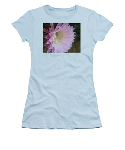 Easter Lily Cactus East Women's T-Shirt (Athletic Fit)