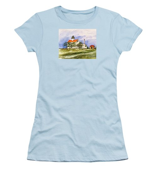 East Point Lighthouse Glory Days  Women's T-Shirt (Athletic Fit)