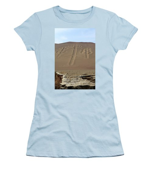 Women's T-Shirt (Junior Cut) featuring the photograph El Candelabro by Aidan Moran