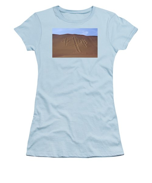 El Candelabro Peru Women's T-Shirt (Junior Cut) by Aidan Moran
