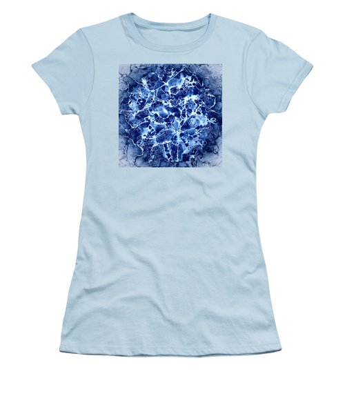 Abstract 1 Women's T-Shirt (Junior Cut) by Patricia Lintner