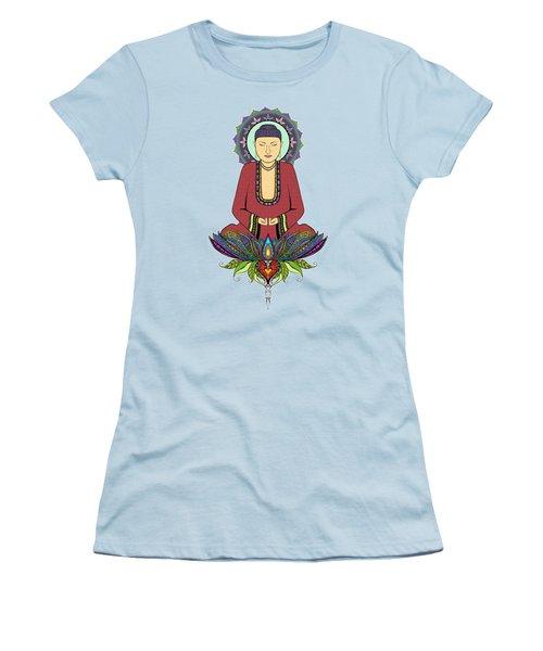 Electric Buddha Women's T-Shirt (Junior Cut)