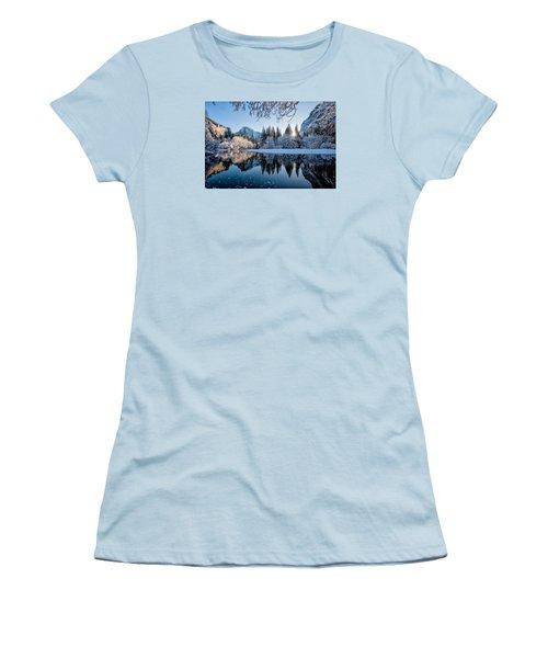 Granite Sunrise Women's T-Shirt (Athletic Fit)