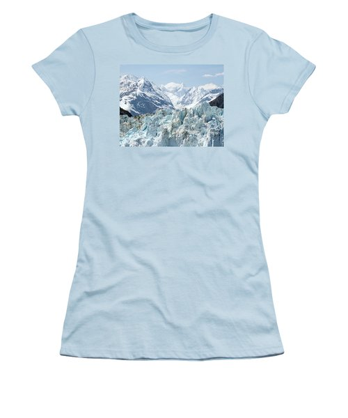 Glaciers End Of A Journey Women's T-Shirt (Athletic Fit)
