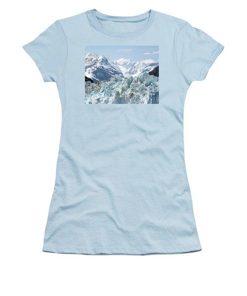 Glaciers End Of A Journey Women's T-Shirt (Athletic Fit)