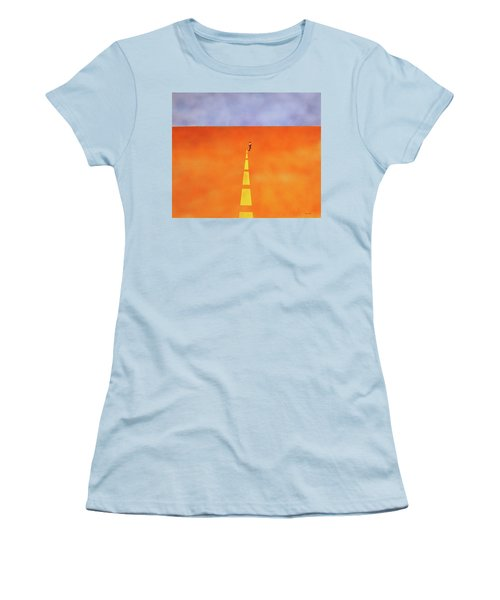 End Of The Line Women's T-Shirt (Athletic Fit)