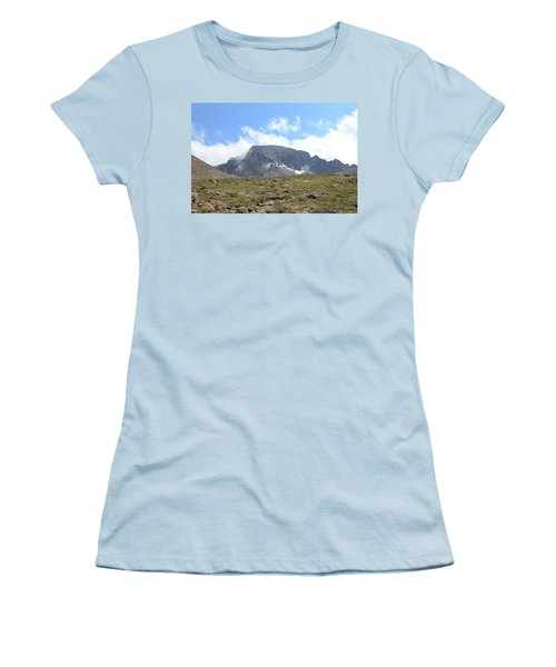 Women's T-Shirt (Junior Cut) featuring the photograph Entering The Boulder Field by Christin Brodie