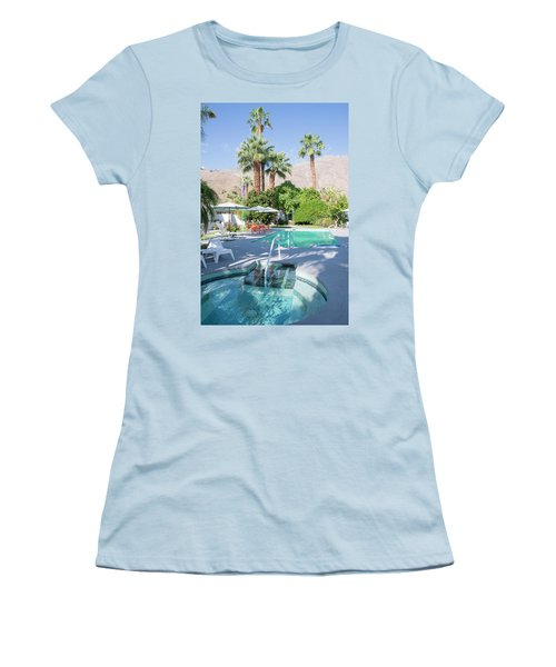 Escape Resort Women's T-Shirt (Athletic Fit)