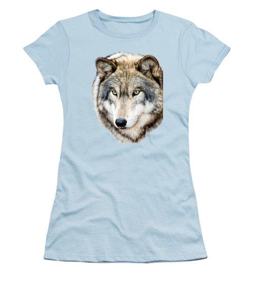 Essence Of Wolf Women's T-Shirt (Junior Cut) by Gary Slawsky