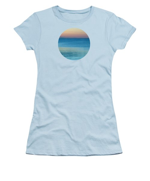 Evening At The Lake Women's T-Shirt (Junior Cut) by Mary Wolf