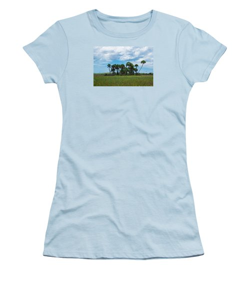 Everglades Landscape Women's T-Shirt (Junior Cut) by Christopher L Thomley