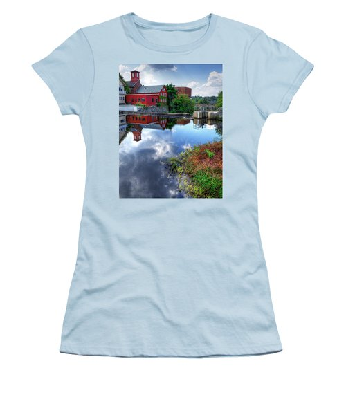 Exeter New Hampshire Women's T-Shirt (Junior Cut) by Rick Mosher
