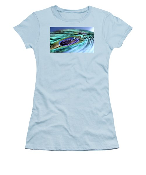Exotic Drops Of Life Women's T-Shirt (Athletic Fit)