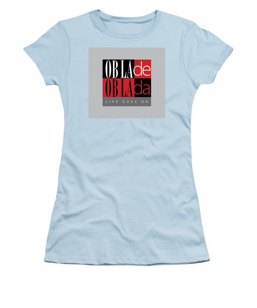 Fab Four Fave Women's T-Shirt (Junior Cut) by Stephen Anderson