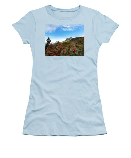 Fall At Grandfather Mountain Women's T-Shirt (Athletic Fit)