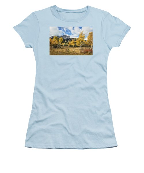 Fall In Kananaskis Women's T-Shirt (Athletic Fit)